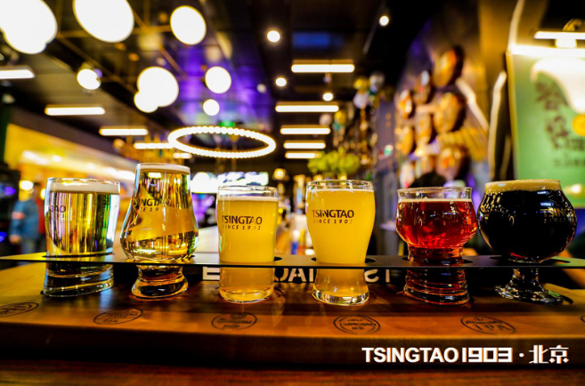 TSINGTAO 1903青島(dao)酒館(guan) 北(bei)京通盈中心店(dian)盛大(da)開幕