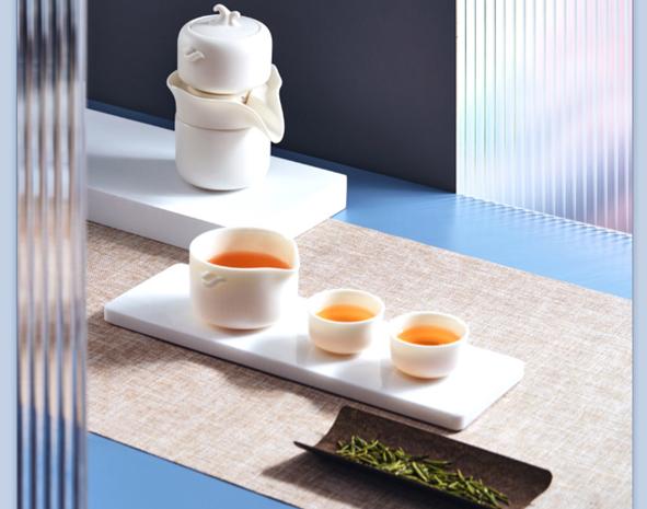 小米有品眾籌上架哲選極泡便攜自動茶具