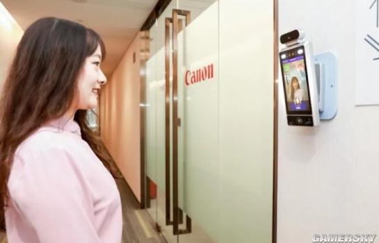 佳能安装办公室AI相机:让员工保持好心情